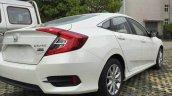 2017 Honda Civic 180Turbo rear three quarters right side spy shot