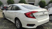2017 Honda Civic 180Turbo rear three quarters spy shot