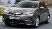 2017 Toyota Corolla (facelift) front images
