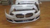 BMW 1 Series Sedan bumpers leaked image
