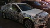 BMW 1 Series Sedan exterior spy shot