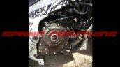Bajaj Pulsar CS400 engine spy shot