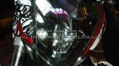 Bajaj Pulsar CS400 headlight IAB spied