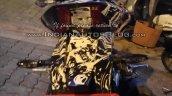 Bajaj Pulsar CS400 rear IAB spied