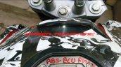 Bajaj Pulsar CS400 tank spy shot