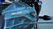 Bajaj V15 custom tank side view