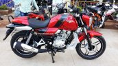 Bajaj V15 side launched in Cocktail Wine Red color