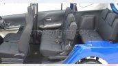 Daihatsu Sigra (rebadged Toyota Calya) cabin photographed