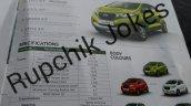 Datsun redi-GO brochure specs