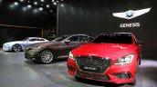 Genesis G80 and Genesis G80 Sport at Busan Motor Show