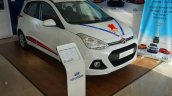 Hyundai Grand i10 20th Anniversary Edition front three quarter In Images