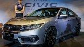 India-bound 2016 Honda Civic front quarter launched in Malaysia