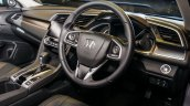 India-bound 2016 Honda Civic interior launched in Malaysia
