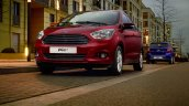 India-made Ford Ka+ (Ford Figo) headlamp, grille, bumper unveiled for European markets