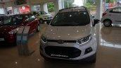 India-spec Ford EcoSport Black Edition front images