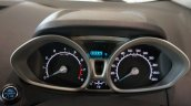 India-spec Ford EcoSport Black Edition instrument cluster images