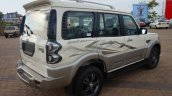 Mahindra Scorpio Adventure rear three quarter  launched in Goa