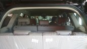 Mahindra XUV500 facelift seat layout