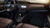 Nissan Kicks SL interior dashboard