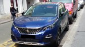 Peugeot 3008 front spotted in the wild
