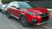 Peugeot 3008 front three quarter spotted in the wild
