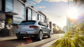 Porsche Macan rear three quarters