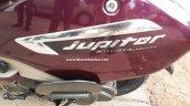 TVS Jupiter MillionR Edition (with front disc brake) badging In Images