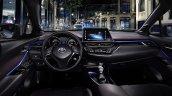 Toyota C-HR compact SUV's interior revealed