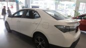 Toyota Corolla Altis X rear three quarters