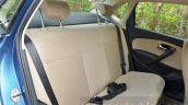 VW Ameo 1.2 Petrol rear seat back Review