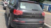 VW Tiguan XL rear three quarters spy shot