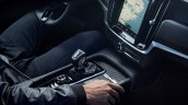 Volvo S90 R-Design and Volvo V90 R-Design centre console and centre tunnel