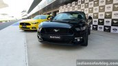 2016 Ford Mustang GT in India black and yellow First Drive Review
