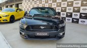2016 Ford Mustang GT in India front First Drive Review