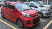 2016 Kia Picanto (facelift) front three quarters Malaysia spy shot
