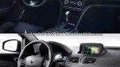 2016 Renault Megane Sedan vs. Renault Fluence interior