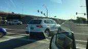 2016 VW Tiguan LWB rear three quarters right side spied