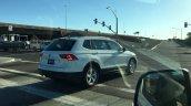 2016 VW Tiguan LWB rear three quarters right side spy shot