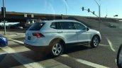 2016 VW Tiguan LWB rear three quarters spied