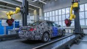 2017 BMW 5 Series at Munich plant