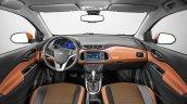 2017 Chevrolet Onix Activ interior dashboard