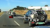 2017 Ford EcoSport rear three quarters spy shot