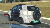 2017 Ford EcoSport spy shot Brazil