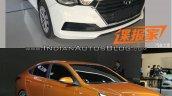 2017 Hyundai Verna front quarter Concept vs Reality