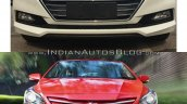 2017 Hyundai Verna vs outgoing model - Old vs New grille