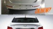2017 Hyundai Verna vs outgoing model rear Old vs New