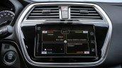 2017 (Maruti) Suzuki S-Cross (facelift) center console unveiled