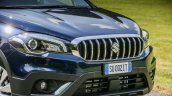 2017 (Maruti) Suzuki S-Cross (facelift) front end unveiled