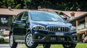 2017 (Maruti) Suzuki S-Cross (facelift) front quarter right unveiled