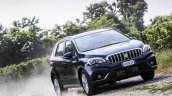 2017 (Maruti) Suzuki S-Cross (facelift) front three quarter unveiled